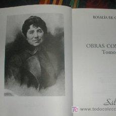Libros de segunda mano: ROSALIA DE CASTRO OBRAS COMPLETAS. Lote 27526396