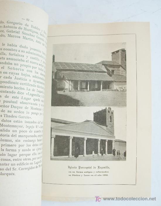 Libros de segunda mano: Libro sobre Lagunilla (Salamanca). Impreso en Segovia, 1958. - Foto 3 - 7081309