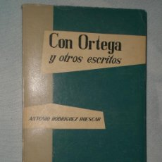 Libros de segunda mano: CON ORTEGA Y OTROS ESCRITOS.. Lote 27633881