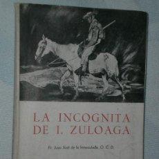 Libros de segunda mano: LA INCÓGNITA DE I. ZULOAGA. . Lote 49775868