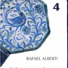 Libros de segunda mano: ALBERTI - FEDERICO GARCÍA LORCA POETA Y AMIGO. Lote 7798393