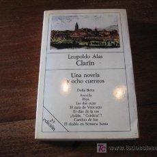 Libros de segunda mano: UNA NOVELA Y OCHO CUENTOS . Lote 6344876
