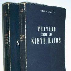Libros de segunda mano: TRATADO SOBRE LOS SIETE RAYOS - PSICOLOGIA ESOTERICA - 2 TOMOS - ALICE A. BAILEY. Lote 27600932