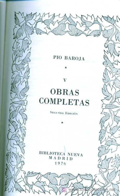 OBRAS COMPLETAS. TOMOS V (L-393) (Libros de Segunda Mano (posteriores a 1936) - Literatura - Otros)