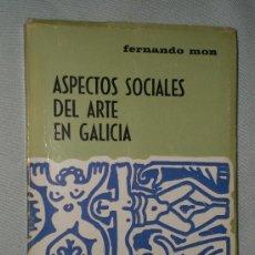 Libros de segunda mano: ASPECTOS SOCIALES DEL ARTE EN GALICIA.. Lote 23049134