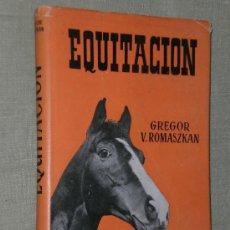 Libros de segunda mano: EQUITACIÓN.. Lote 22216722