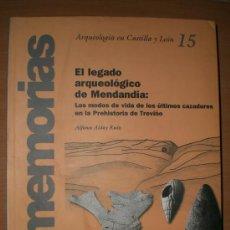 Libros de segunda mano: EL LEGADO ARQUEOLÓGICO DE MENDANDIA. LOS MODOS DE VIDA DE LOS ÚLTIMOS CAZADORES...(BURGOS). Lote 24986782