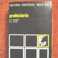 Libros de segunda mano: PREHISTORIA, M. H. ALIMEN Y M. STEVE, AÑO 1974.. Lote 26169641