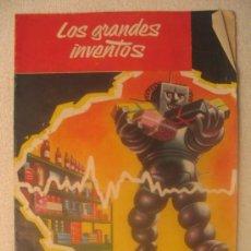 Libros de segunda mano: LOS GRANDES INVENTOS - FASCICULO Nº 20. Lote 6706931