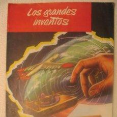 Libros de segunda mano: LOS GRANDES INVENTOS - FASCICULO Nº 12. Lote 6707128