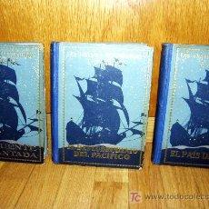 Libros de segunda mano: LOS GRANDES EXPLORADORES ESPAÑOLES TRES TOMOS. Lote 27544770