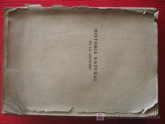 Libros de segunda mano: HISTORIA NATURAL DE LA CREACION - Foto 2 - 6867736