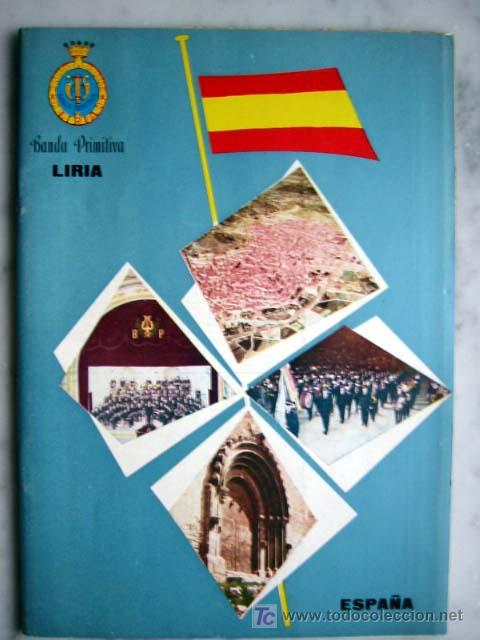 BANDA PRIMITIVA LIRIA, 1965 (Libros de Segunda Mano - Historia - Otros)