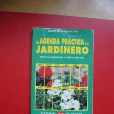 Libros de segunda mano: (9045) LA AGENDA PRACTICA DEL JARDINERO-. Lote 183273116