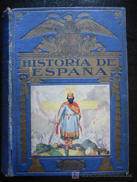 Libros de segunda mano: HISTORIA DE ESPAÑA, por AGUSTÍN BLÁNQUEZ FRAILE, SOPENA, 1940. - Foto 2 - 26449009