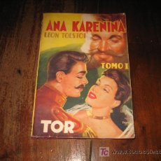 Libros de segunda mano: ANA KARENINA TOMO I . Lote 9309295