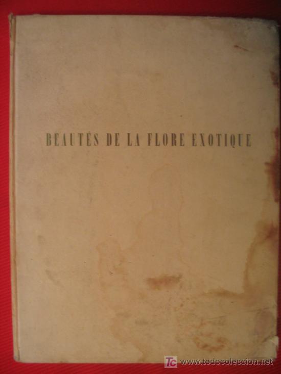 BEAUTÉS DE LA FLORE EXOTIQUE (Libros de Segunda Mano - Ciencias, Manuales y Oficios - Otros)