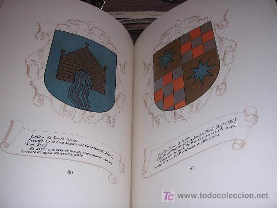 Libros de segunda mano: RAMON PIÑOL ANDREU, HERALDICA DE LA CATEDRAL DE BARCELONA, MUY ILUSTRADO, NUMERADO, 1948 - Foto 3 - 13973850