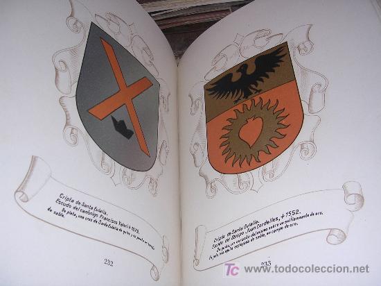 Libros de segunda mano: RAMON PIÑOL ANDREU, HERALDICA DE LA CATEDRAL DE BARCELONA, MUY ILUSTRADO, NUMERADO, 1948 - Foto 4 - 13973850