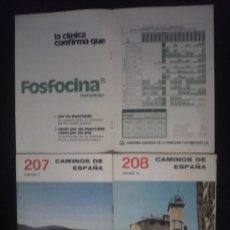 Libros de segunda mano: CAMINOS DE ESPAÑA. ORENSE, I,II, III EDITADO POR COMPAÑIA ESPAÑOLA DE PENICILINA. 16 PAG. CAP.. Lote 10047704