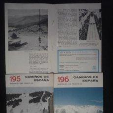 Libros de segunda mano: CAMINOS DE ESPAÑA. INVIERNO PIRINEROS. EDITADO POR COMPAÑIA ESPAÑOLA DE PENICILINA. 16 PAG. CAP.. Lote 10047701
