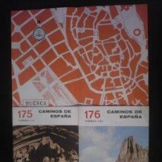 Libros de segunda mano: CAMINOS DE ESPAÑA. HUESCA, I, II,III EDITADO POR COMPAÑIA ESPAÑOLA DE PENICILINA. 16 PAG. 1958. Lote 10047698