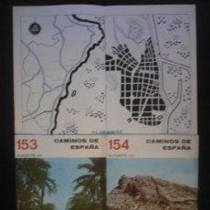 Libros de segunda mano: CAMINOS DE ESPAÑA. ALICANTE. I, II Y III EDITADO POR COMPAÑIA ESPAÑOLA DE PENICILINA. 16 PAG. 1958. Lote 10047709