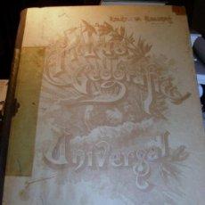 Libros de segunda mano: ATLAS GEOGRAFICO UNIVERSAL SALVADOR SALINAS. Lote 27362773