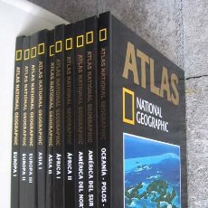 Libros de segunda mano: 10 TOMOS ATLAS .. NATIONAL GEOGRAPHIC. Lote 19499644