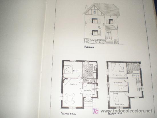 Planos modernos de villas y chalets por arqui comprar en todocoleccion 7427892 - Planos de chalets modernos ...