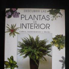 Libros de segunda mano: PLANTAS DE INTERIOR, FAC. JAVIER ALONSO DE LA PAZ ISABEL LOPEZ PEREZ ED. AGATA 1997 95 PAG. Lote 16972676