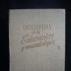 Libros de segunda mano: ENCICLOPEDIA DE LA MUNDOLOGIA, EDITORES GASSO. 1958.402 PAG.. Lote 10539031