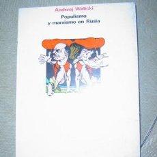 Libros de segunda mano: POPULISMO Y MARXISMO EN RUSIA. Lote 25495734