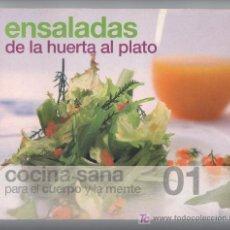 Libros de segunda mano: ENSALADAS DE LA HUERTA AL PLATO.. Lote 7511126