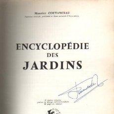 Libros de segunda mano: ENCYCLOPÉDIE DES JARDINS . Lote 7568594
