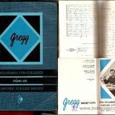 Libros de segunda mano: MÉTODO -TAQUIGRAFIA INGLES -AÑO 1965, DIAMOND JUBILEE. Lote 26360549