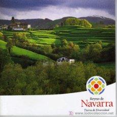 Libros de segunda mano: REYNO DE NAVARRA TIERRA DE DIVERSIDAD (44 PÁGINAS). Lote 7575477