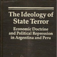 Libros de segunda mano: THE IDEOLOGY OF STATE TERROR... / D. PION-BERLIN. LONDON : L. RIENNER, 1989. 24X15 CM. 225 P.. Lote 26143043
