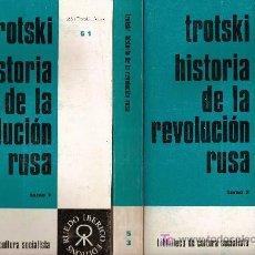 Libros de segunda mano: HISTORIA DE LA REVOLUCION RUSA / L. TROTSKY;TRAD. A. NIN. PARIS : RUEDO IBERICO,1972. 3 VOLS.1027 P. Lote 27504138
