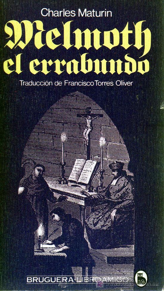 MELMOTH EL ERRABUNDO DE CHARLES MATURIN (Libros de Segunda Mano (posteriores a 1936) - Literatura - Otros)