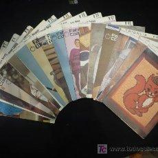 Libros de segunda mano: NUMEROS SUELTOS DE FABRA COATS SOBRE CORTE Y CONFECCION.. Lote 26950099