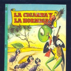 Libros de segunda mano: LA CIGARRA Y LA HORMIGA. COLECCION PARA LA INFANCIA. EDITORIAL BRUGUERA.. Lote 14589279