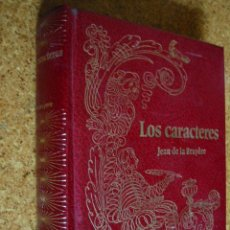 Libros de segunda mano: LOS CARACTERES, POR JEAN DE LA BRUYÈRE Y POR TEOFRASTO. Lote 26956168