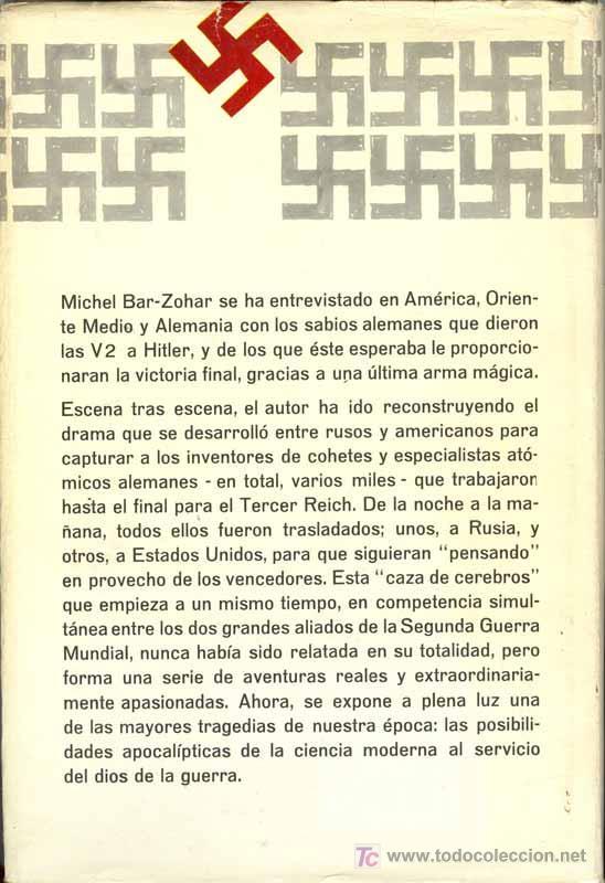Libros de segunda mano: 1967: LOS SABIOS ALEMANES - NACISMO - A la caza de los sabios alemanes - Foto 2 - 26458497