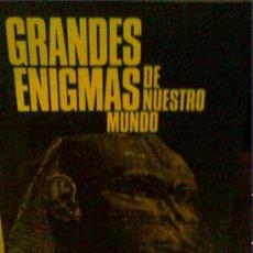 Libros de segunda mano: GRANDES ENIGMAS DE NUESTRO MUNDO DE CIRCULO DE LECTORES. Lote 27040647