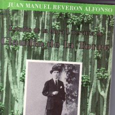 Libros de segunda mano: ESTUDIO DE LA OBRA LITERARIA DE CLAUDIO DE LA TORRE.JUAN MANUEL REVERON ALFONSO.. Lote 19573028