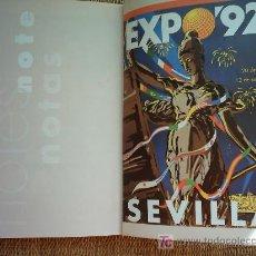 Libros de segunda mano: GUIA OFICIAL EXPOSICIÓN UNIVERSAL DE SEVILLA 1992. 2ª REIMPRESIÓN.. Lote 7907198
