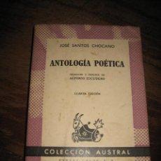 Libros de segunda mano: ANTOLOGIA POETICA . Lote 7960161