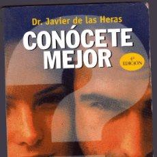 Libros de segunda mano: CONÓCETE MEJOR DESCUBRE TU PERSONALIDAD POR EL DOCTOR JAVIER DE LAS HERAS. Lote 49736411