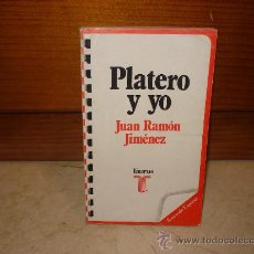 Libros de segunda mano: JUAN RAMÓN JIMÉNEZ - PLATERO Y YO - TAURUS 1975. Lote 8030461